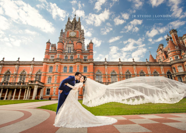 Miao :: Pre-wedding Photography in London - Royal Holloway